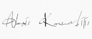 name signature