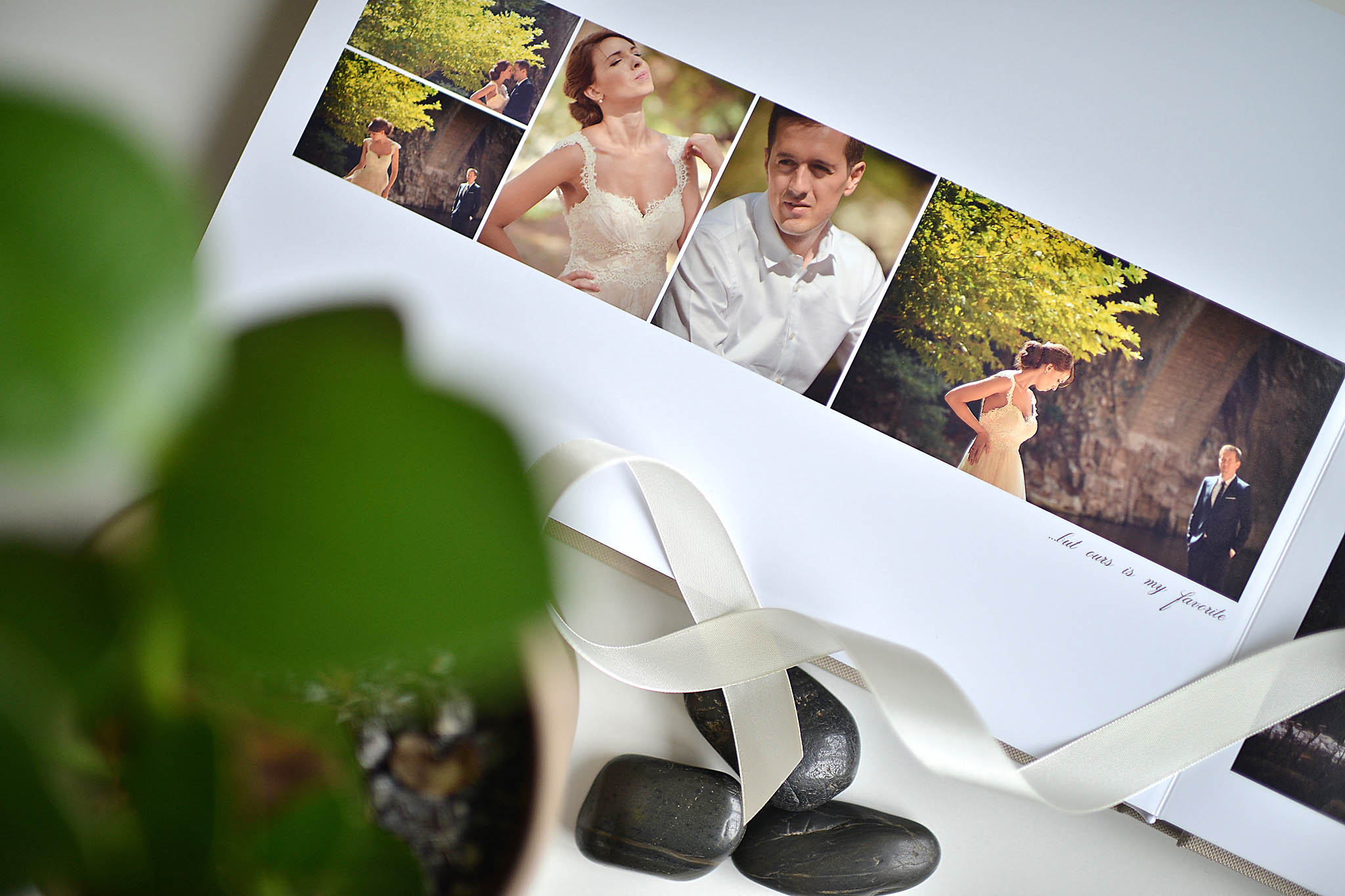 wedding photo album by Alexis Koumaditis photography